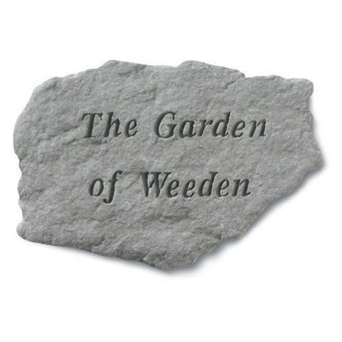 The Garden Of Weeden Garden Accent Stone by Kay Berry