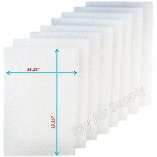 Amana A1EAC Air Cleaner Replacement Filter Pads 24x30 Refills (4 Pack) (Amana Air Filters)