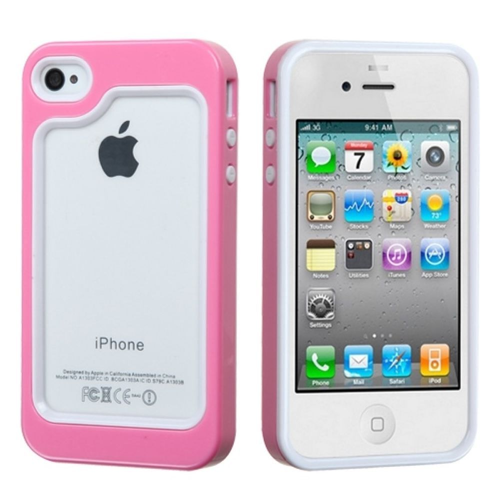 iphone 4s walmart iphone 4s by insten silicone bumper for iphone 10941