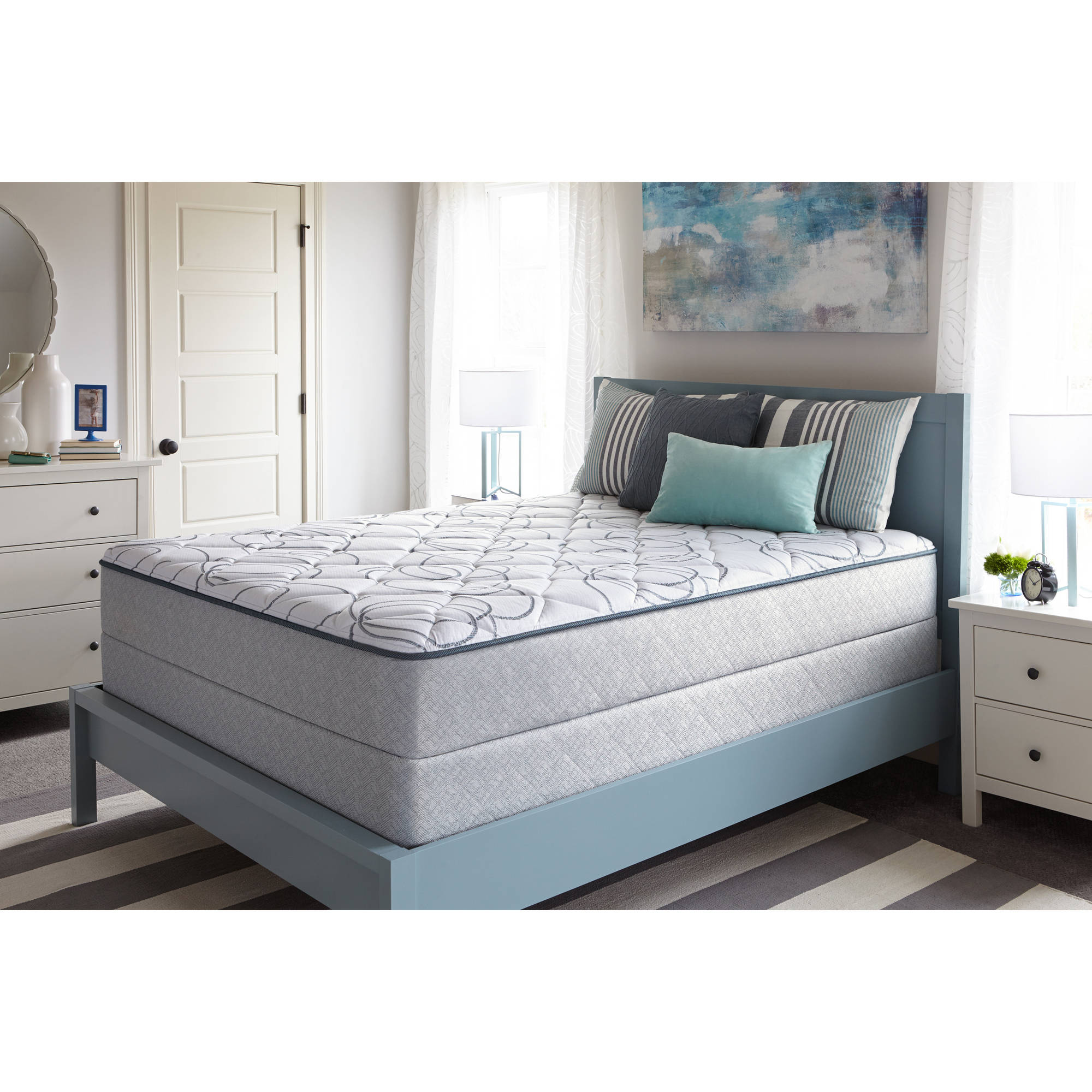 sealy bourdon mattress firm multiple sizes walmartcom