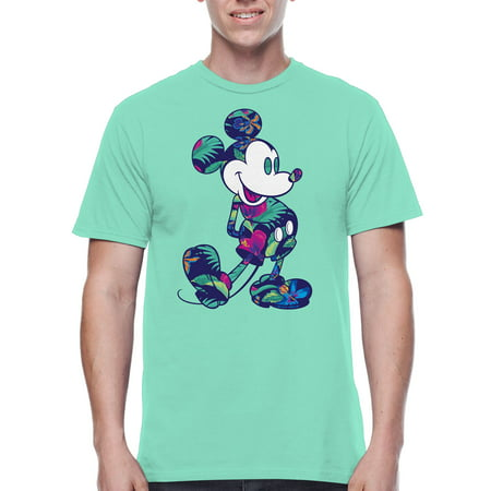 Disney Mickey Mouse Mens Tropics Graphic Tee