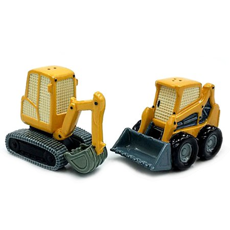 Construction Machine Salt & Pepper Shaker