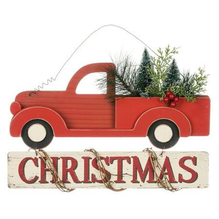 Sullivans Christmas Truck Wall Ornament