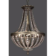 Terragona Mini Chandelier (Roman Bronze - Crystalique)
