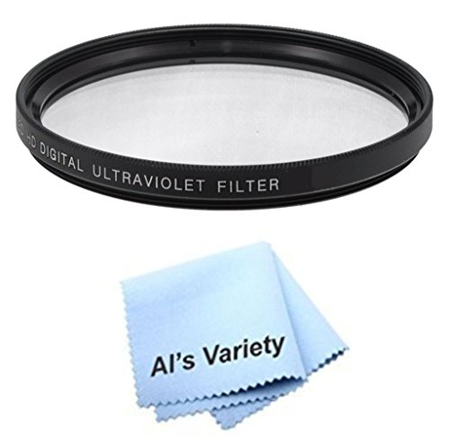 72mm High Resolution Clear Digital UV Filter with Multi-Resistant Coating for Fujifilm X-T1 Microfiber Cleaning Cloth