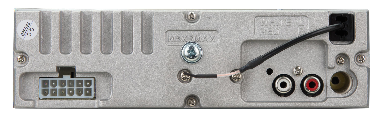 dual electronics xdm280bt multimedia detachable 3 7 inch lcd single