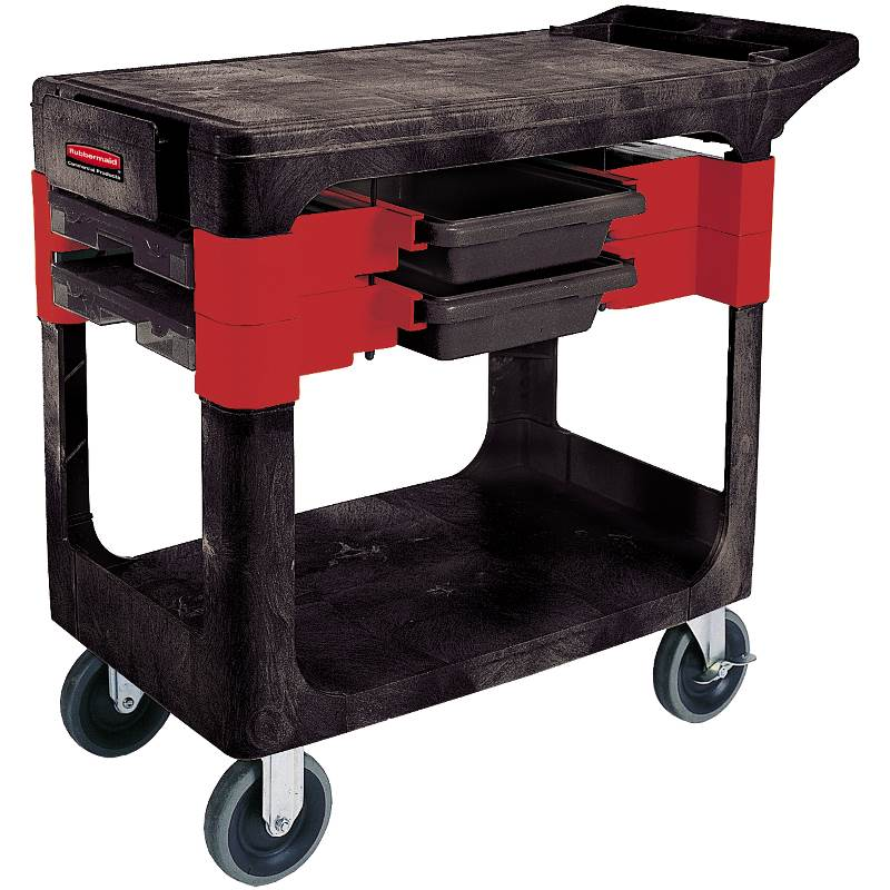 Rubbermaid Commercial Products Trades Utility Cart