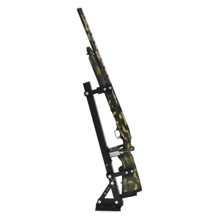 Great Day Inc QD810-LGR Quick-Draw Locking Vertical Gun Rack