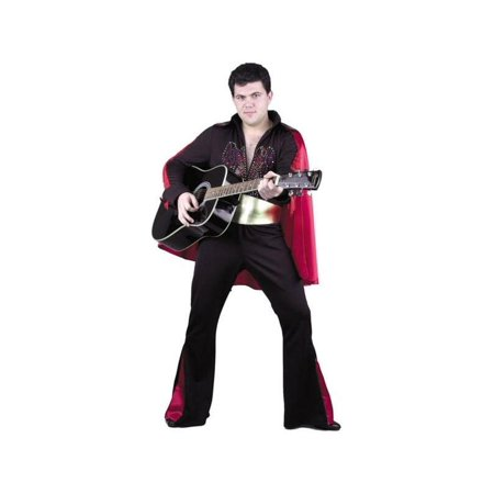 Adult Black Rock Star Costume for $<!---->