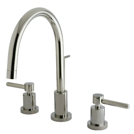 Elements Of Design Polished Tub (Elements of Design Concord Single Hole Widespread Bathroom Faucet)