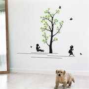 HL-1216 Swing - Wall Decals Stickers Appliques Home Decor