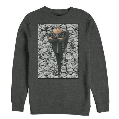Despicable Me Men's Gru Montage Sweatshirt (Gru Despicable Me Costume)