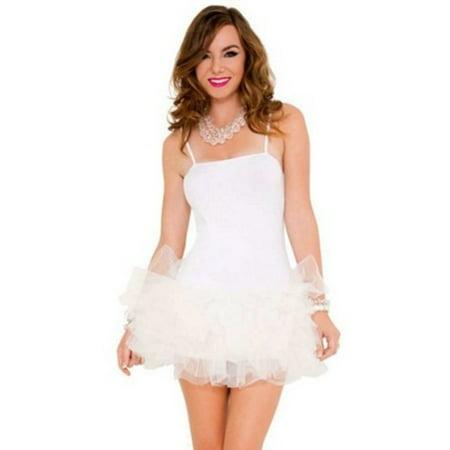 Sky Hosiery White Tutu Dress 70560 White (Stores That Sell Tutus)