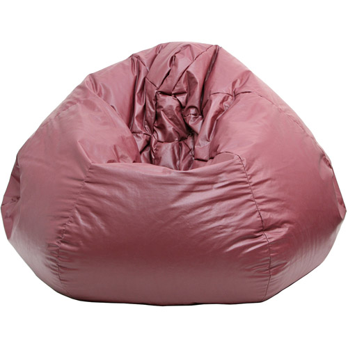 Extra Large Leather Look Vinyl Bean Bag