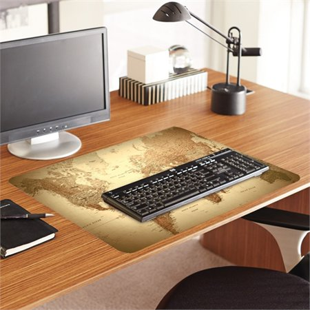 Es robbins trendsetter world map desk pad 24 x 19 golden 119066 es robbins trendsetter world map desk pad 24 x 19 golden 119066 gumiabroncs Image collections