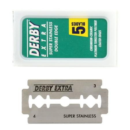- Derby Extra Double Edge Razor Blades, 100 Count