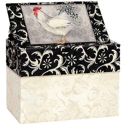 Lang Daylight Recipe Card Box with Recipe Cards