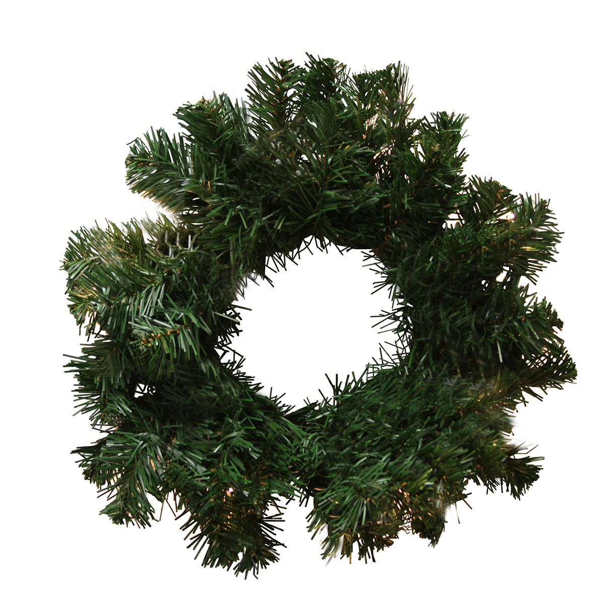 "10"" Deluxe Windsor Pine Artificial Christmas Wreath - Unlit"