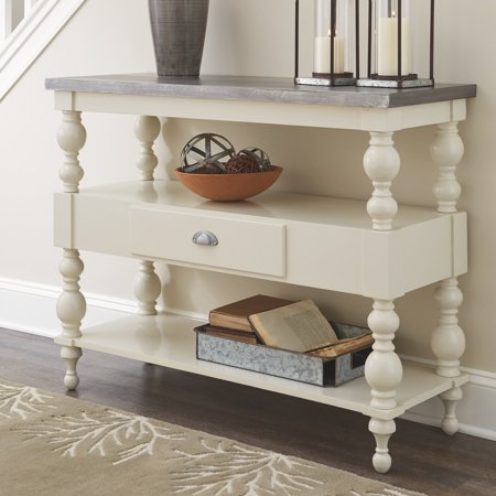 Signature Design by Ashley Fossil Ridge 45 in. Single Drawer Console Table