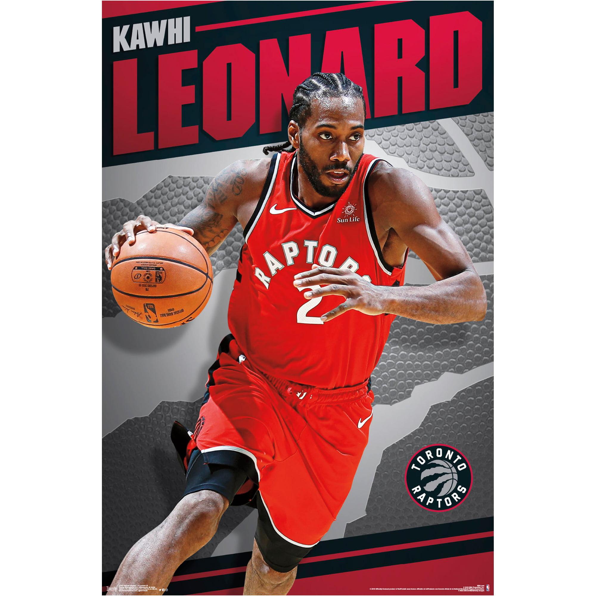 Kawhi Leonard Toronto Raptors 22.4'' x 34'' NBA Players Poster - No Size