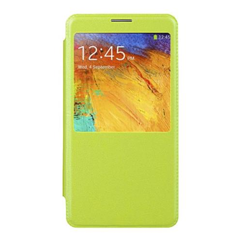 DreamWireless BCFSAMNOTE3GRSV Samsung Galaxy Note 3 Battery Cover Flip Green