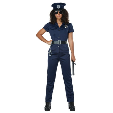 Womens Police Officer Halloween - Thames Valley Police Halloween Poster