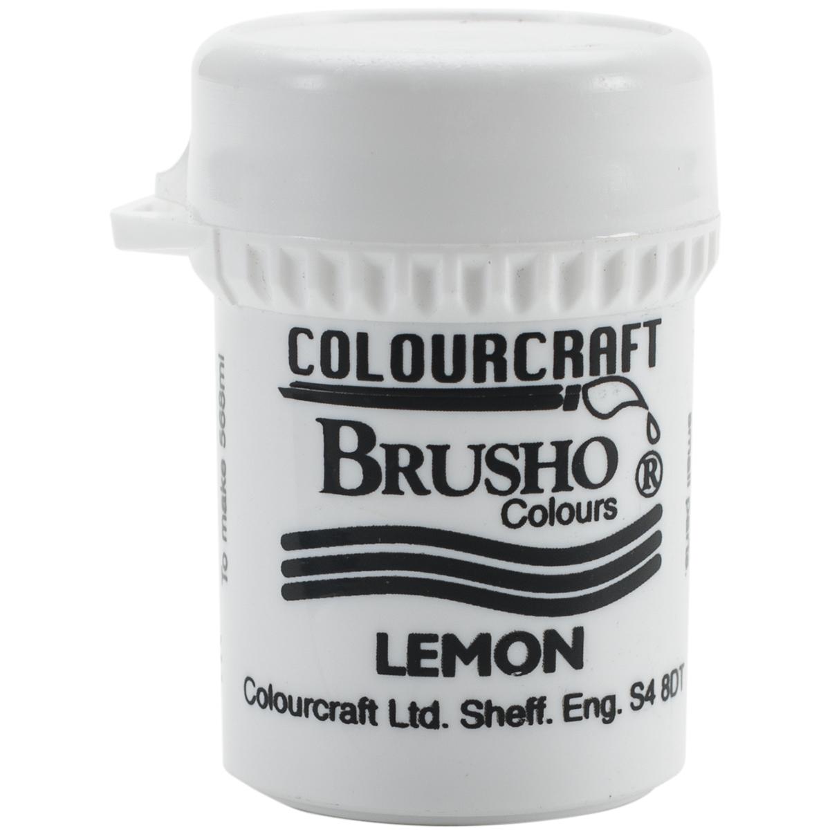 Brusho Crystal Colour 15G-Lemon - image 1 de 1