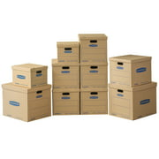 Bankers Box Smooth Move Classic Moving Boxes Kit (10pk) 6 Medium, 2 Small and 2 Large