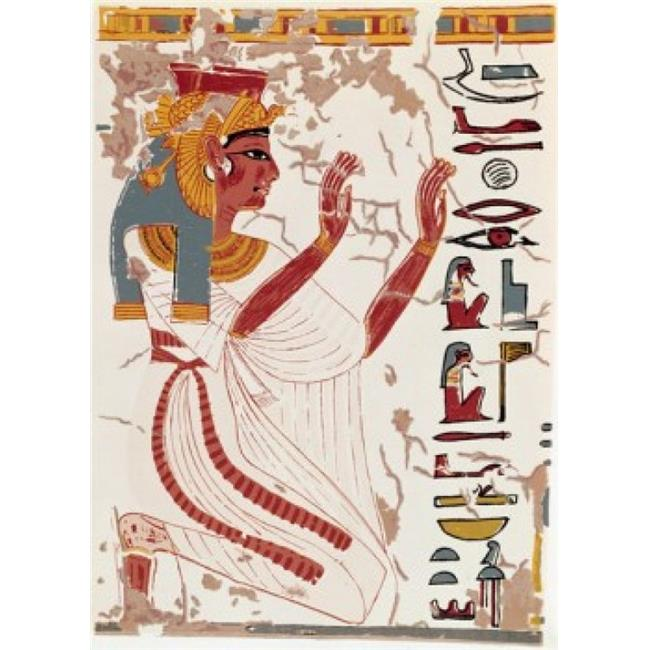 Posterazzi SAL900131624 Egypt Thebes Valley of the Queens Nefertiti Tomb Nefertiti 1300-1200 BC Poster Print - 18 x 24 in. - image 1 of 1