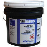 Bulldog 12289 Multi-Purpose Flooring Adhesive, 4 gal, Pail, Beige, Paste