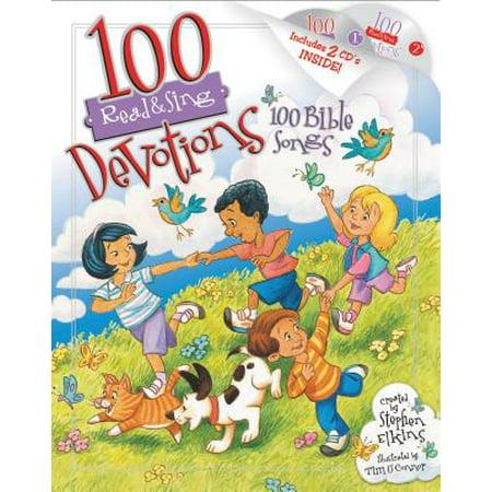 100 Read & Sing Devotions, 100 Bible - Halloween Reading Songs