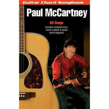 Paul Mccartney: Guitar Chord Songbook