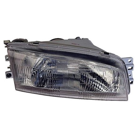 Go-Parts » 1997 - 2001 Mitsubishi Mirage Front Headlight Headlamp Assembly Front Housing / Lens / Cover - Left (Driver) Side - (4 Door; Sedan) MR476689 MI2502114 Replacement For Mitsubishi (Mirage Sedan)