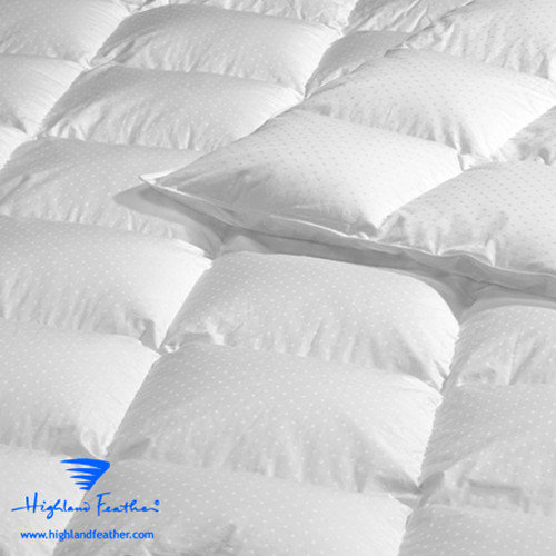 Highland Feather Aquitaine Down Comforter