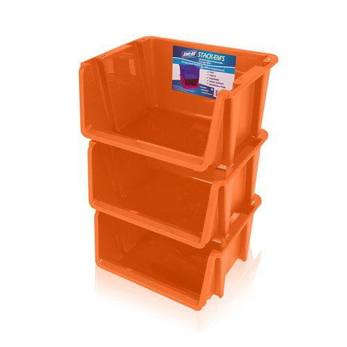 Rebrilliant Stack 'Ems- Stackable Storage Bin (Set of 3)