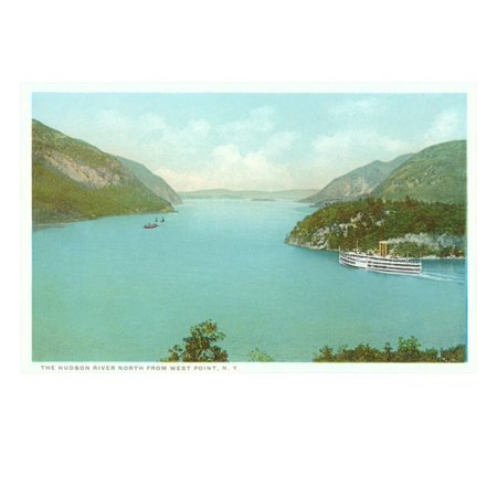 Hudson River, West Point, New York Print Wall Art Hudson River West Point