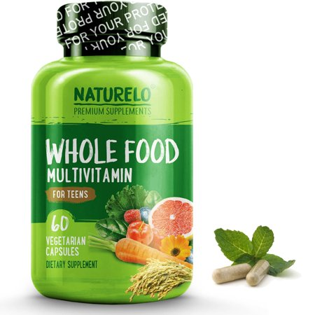 Whole Food Multivitamin for Teens - 60 Capsules (Best Whole Food Multivitamin 2019)