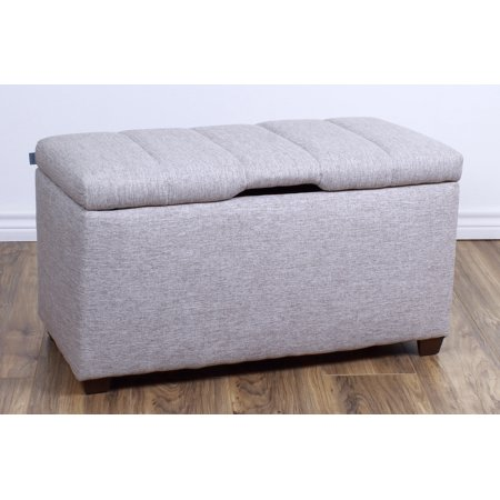 The Crew Furniture® Upholstered Bedroom Storage Ottoman Bench #991900 ()
