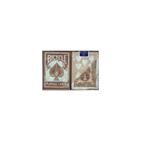 (Bicycle Deluxe 2 Dirty Deck Playing Cards Set in Leather Case)