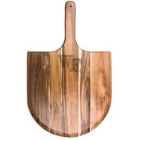 Picnic Time 891-00-512-613-0 Wake Forest University Demon Deacons Engraved Acacia Pizza Peel, Natural