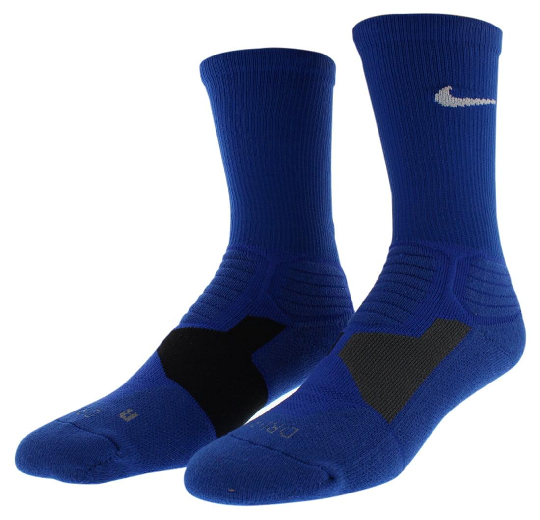 Nike Mens Hyper Elite Basketball Crew Socks Royal Blue