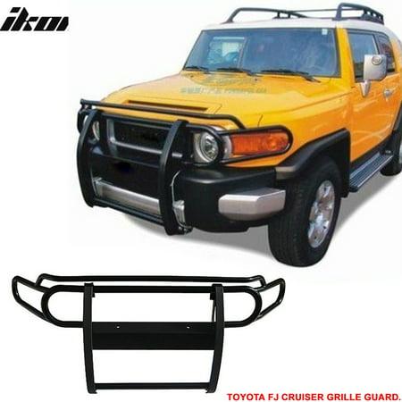 Grille Toyota Fj Cruiser (Ikon Motorsports Bull Bar Grille Guard - Fits Toyota Fj Cruiser 07-14 Front Black Stainless)