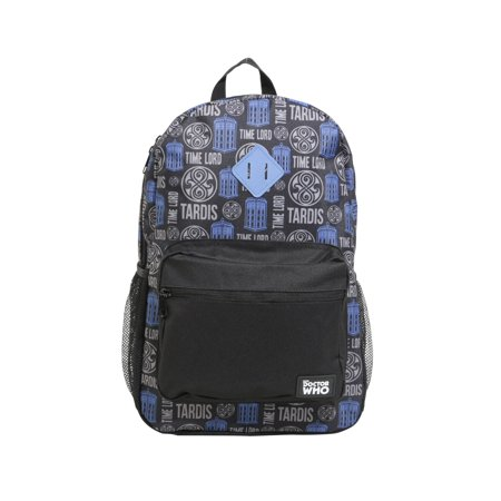 Time Lord TARDIS Allover Backpack (Doctor Who Backpack)