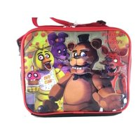 NEW USA Five Nights at Freddys LUNCHBOX LUNCH KIT School Bag