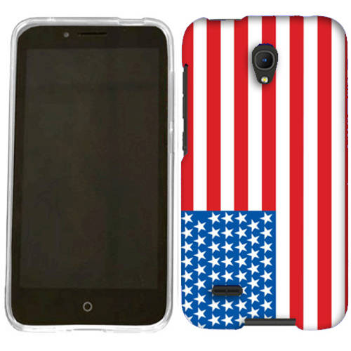 Mundaze American Flag Phone Case Cover for Alcatel OneTouch Conquest