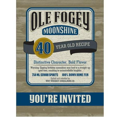 Ole Fogey Moonshine