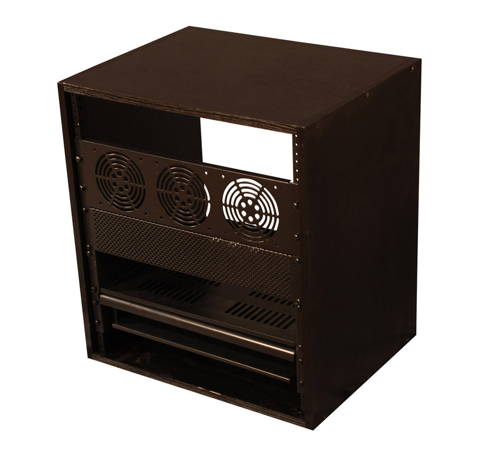 Gator Cases GR-STUDIO12U 12U Studio Rack Cabinet by Gator
