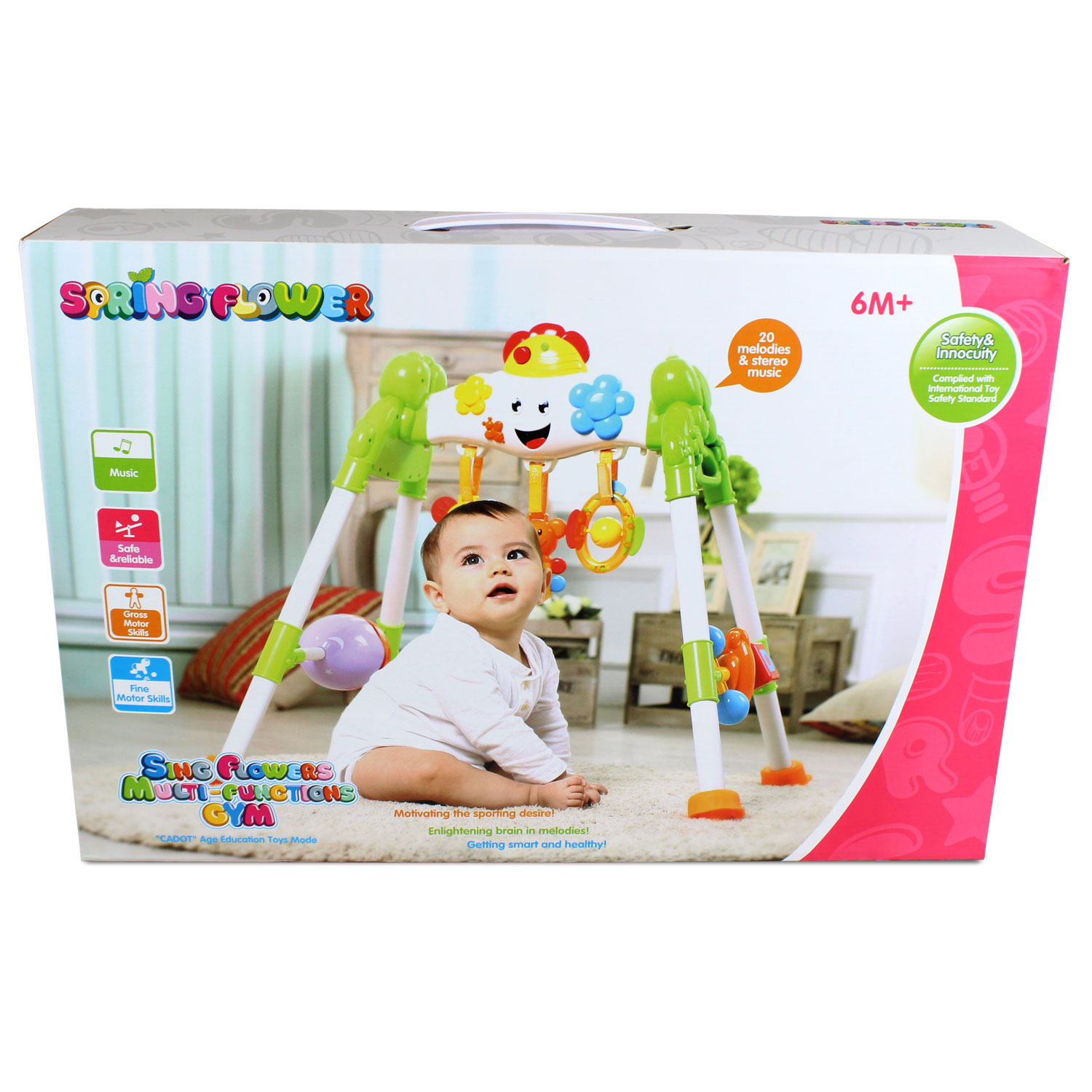 Sing Song Interactive Baby Gym Kids Developmental Toy