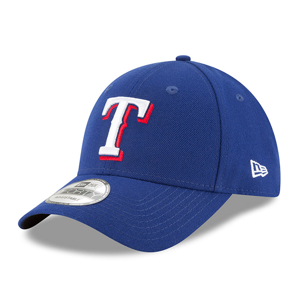 Texas Rangers New Era Men's League 9Forty Adjustable Hat - Royal  - - OSFA
