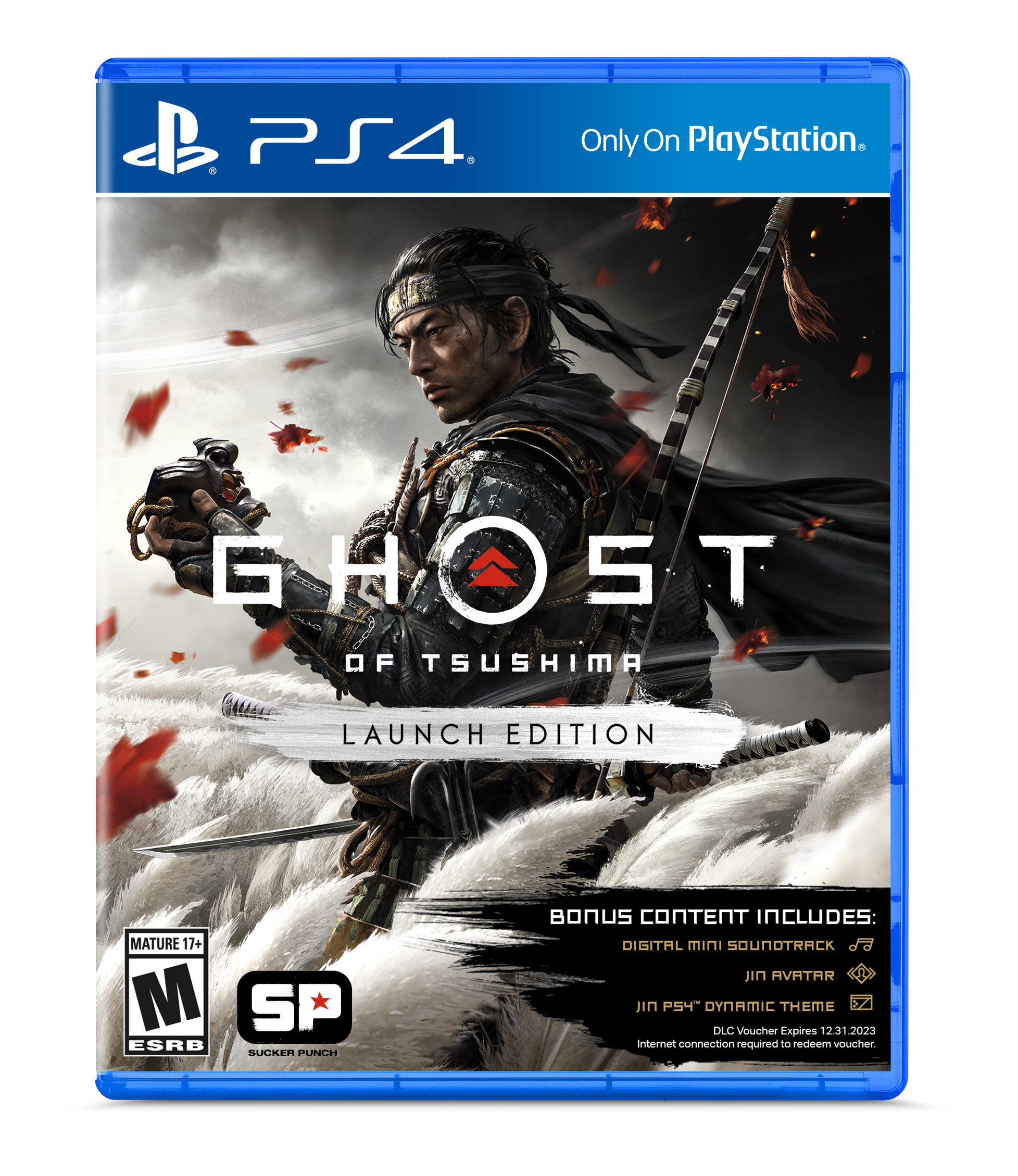 Ghost Of Tsushima Launch Edition Sony Playstation 4 Walmart Com Walmart Com